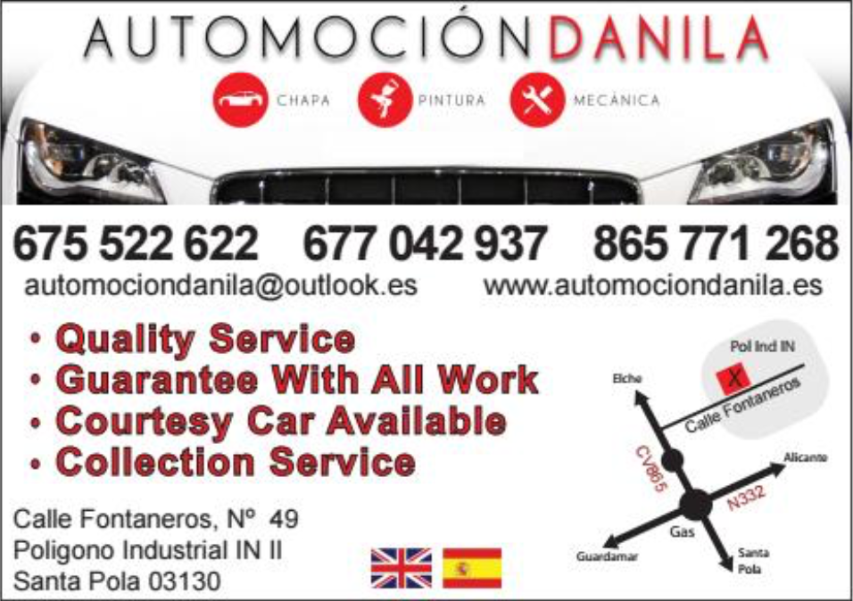 Automociondanila Costa Car Trader Advert