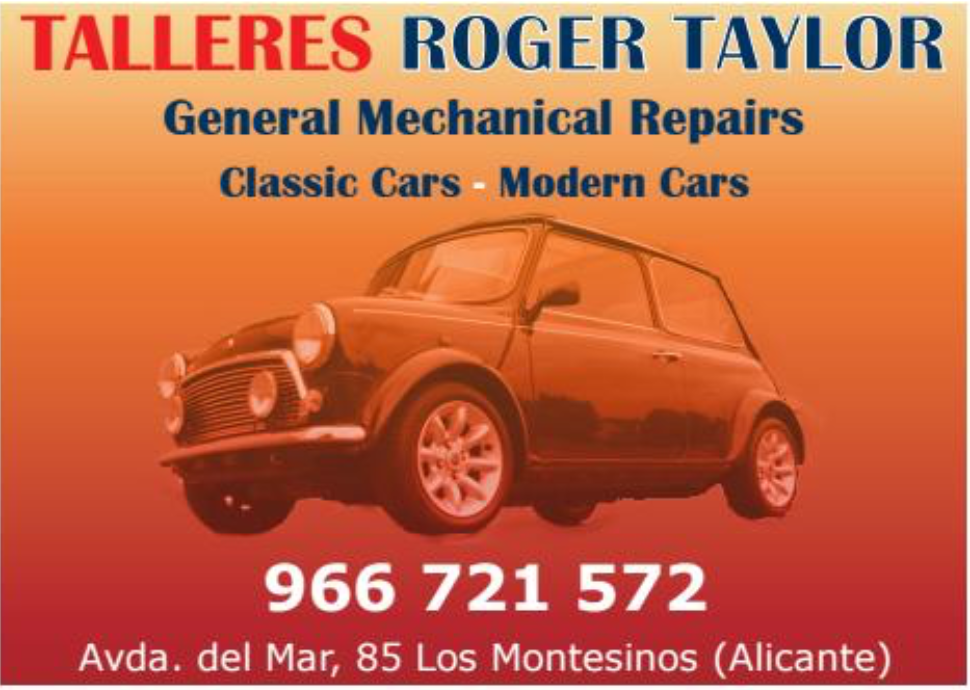 Roger Taylor Costa Car Trader Advert