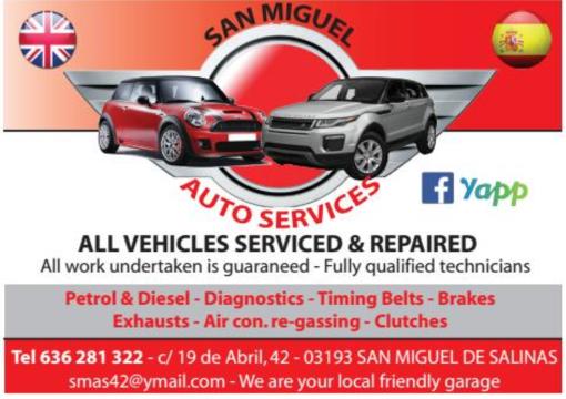 San Miguel Auto Services CostaCarTrader
