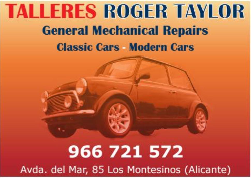 Roger Taylor Costa Car Trader Advert