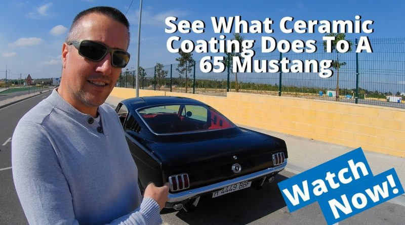 1965 Ford Mustang Fastback Gets A Ceramic Coating And The Results Are Incredible