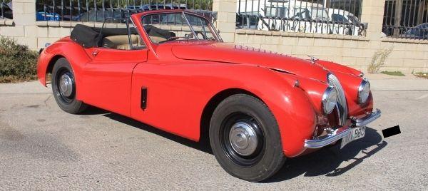 Jaguar xk120 cabrio for sale