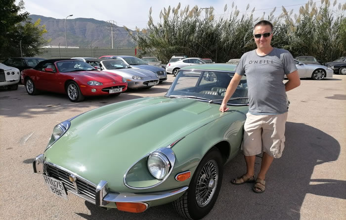 Jaguar E Type v12 For Sale At Classicos Legendarios Redovan in Spain